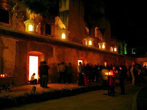 Inauguration of Los Desaparecidos Exhibit in La Antigua Guatemala