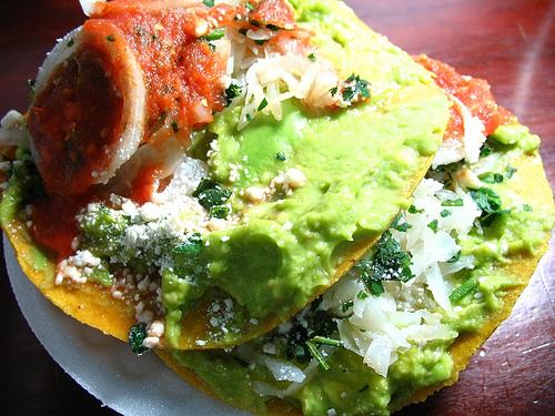 Guatemalan Cuisine: Tostadas de Guacamol