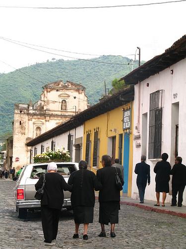 Antigua Guatemala Funeral