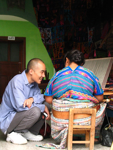 Learning the Tricks of the Guatemalan Textile