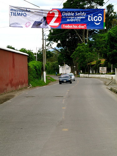 Billboards and Large Banners and Signs are Prohibited in Antigua
