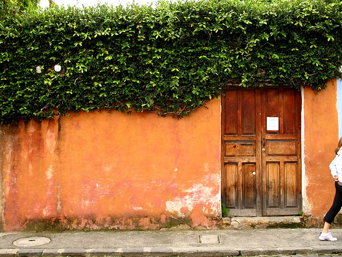 Typical Façade of La Antigua Guatemala