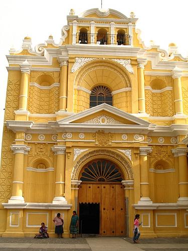 Façade of Church of San Pedro
