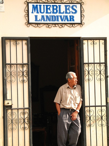 Muebles Landívar Doorway
