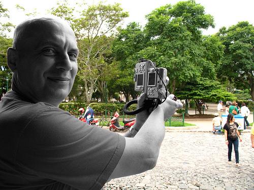 Taking 3D Stereo Photos of La Antigua Guatemala