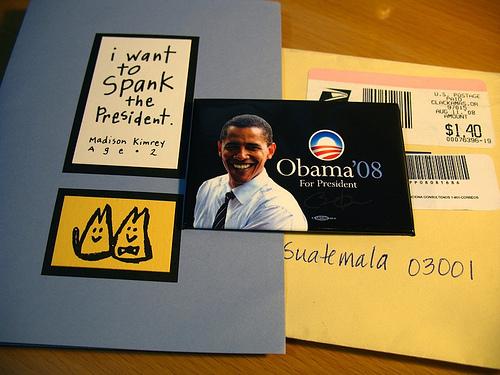 Obama in Antigua Guatemala