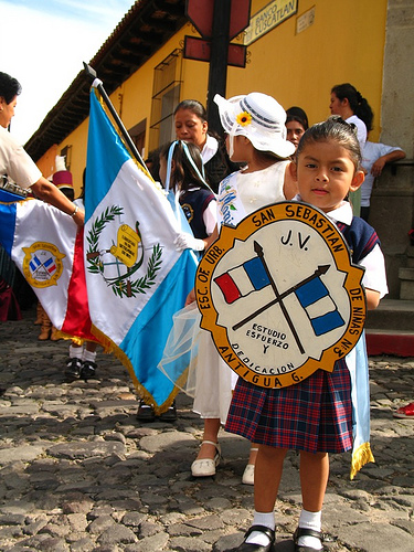 Pre-Primary School Parade in Antigua