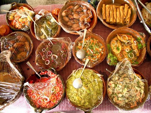 Traditional Guatemalan Cuisine Sampler