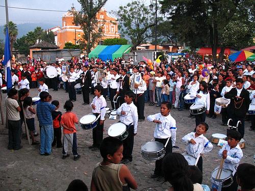 Arriada de la Bandera de Guatemala