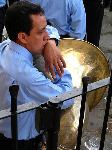 Sousaphone Man