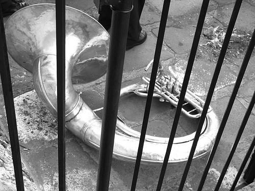 Jailed Sousaphone