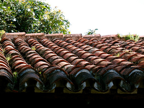 Spanish-tile Roof Pattern in Antigua