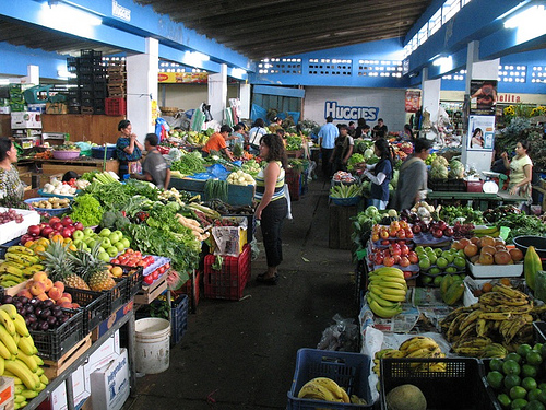 Fresh Produce at Antigua's Market