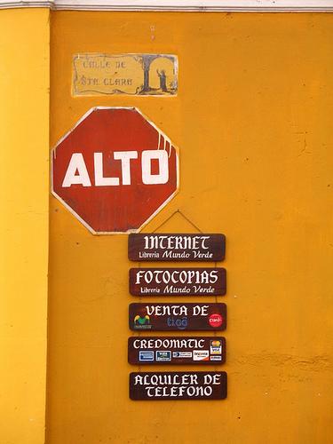 Alto, Read All Signs