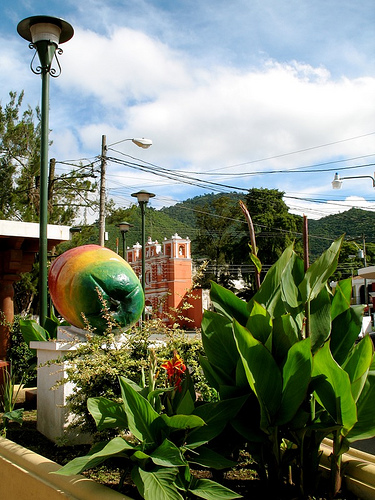 The Jocote Monument in Jocotenango