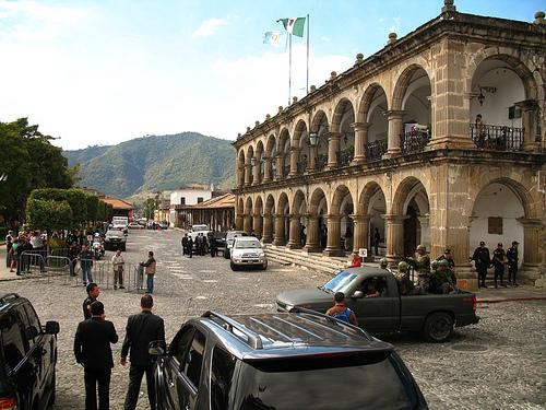 El Señor Presidente in La Antigua Guatemala