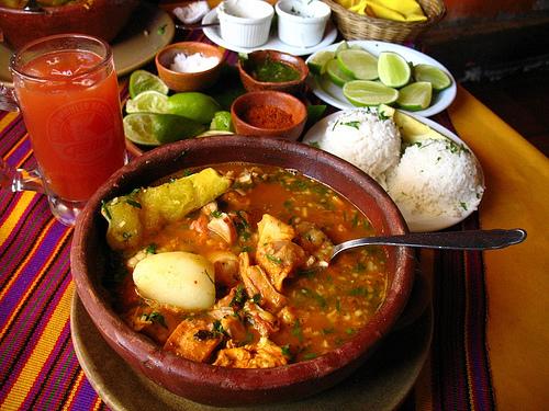 Guatemalan Cuisine: Caldo de Pata