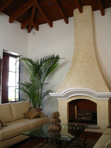 Casa Antigüeña: The Living Room