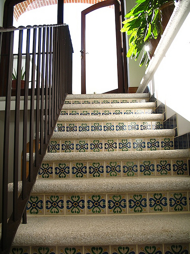 Casa Antigüeña: The Stairway Details
