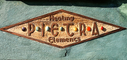 Antigua's Pietra Sign Healing elements