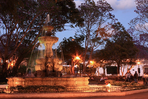 Twilight Zone at Antigua's Central Park