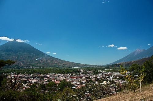 Panoramic View from Antigua Guatemala