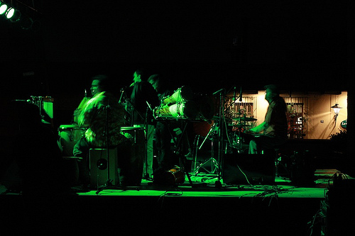 Quinteto de Jazzuv in Antigua Guatemala's Jazz Festival