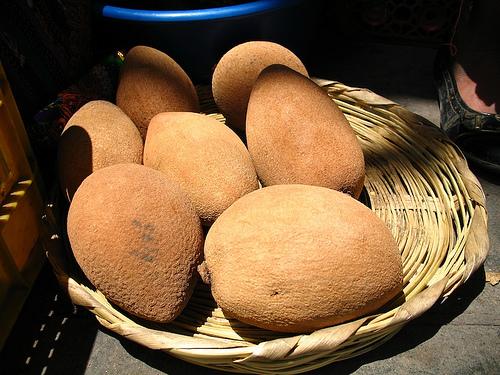 Guatemalan Fruit: Zapote