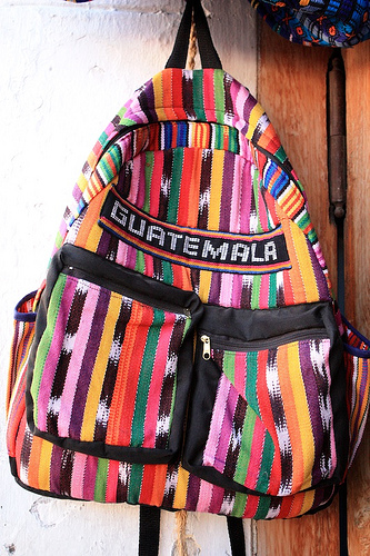 Guatemalan Style Backpack