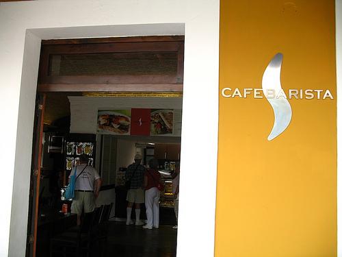 Café Barista Sign