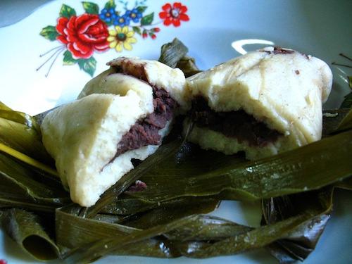 Guatemalan Bean Tamalitos