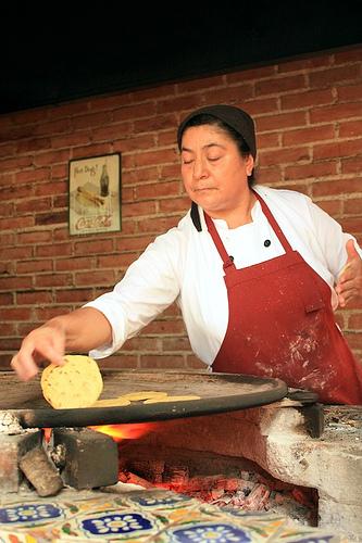 Hgh-scale Tortilleria in La Antigua Guatemala