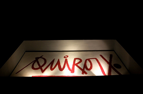Quirox Sign