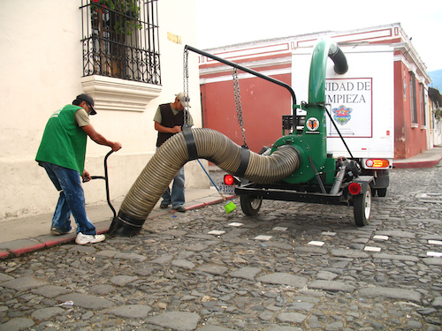 New Street Sweepers in Antigua