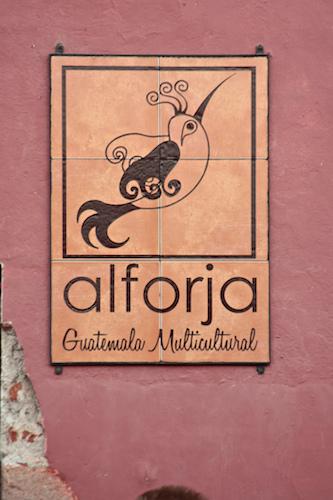 Alforja Sign