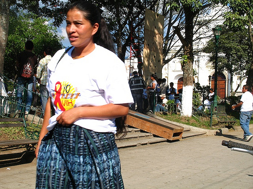 World Aids Day in Antigua Guatemala