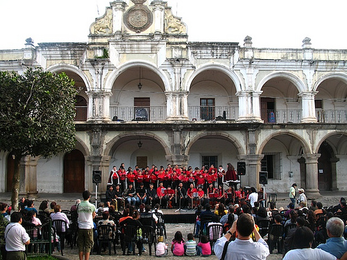 Christmas Carols in Antigua Guatemala