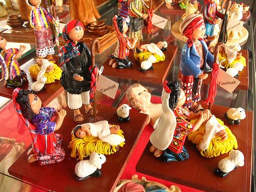 Guatemalan Nativity Scene