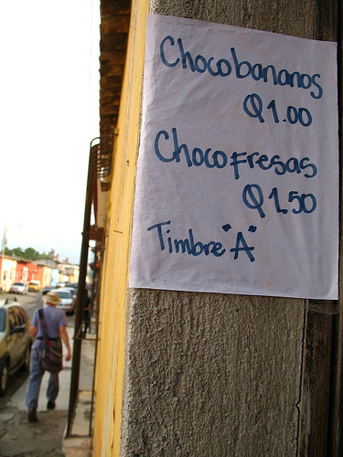 Chocobananos and Chocofresas for Sale