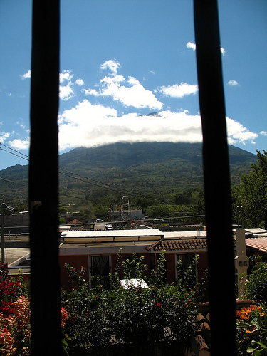 Windy and Sunny in La Antigua Guatemala