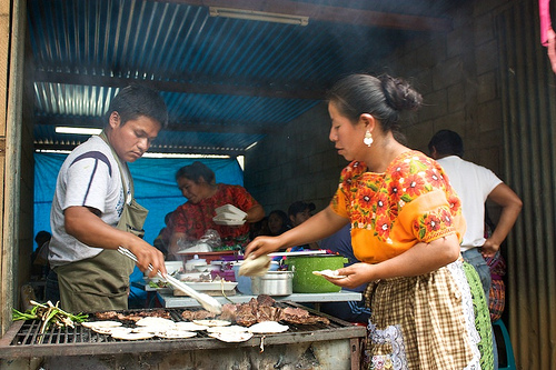 Guatemalan Cuisine: Tortillas con Carne