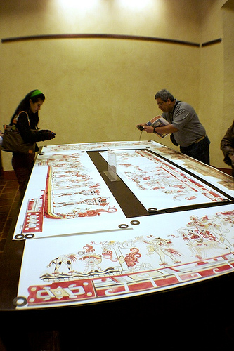 Photographing The Maya Hieroglyphic Writing