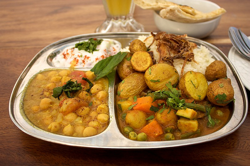 Indian Vegetarian Sampler