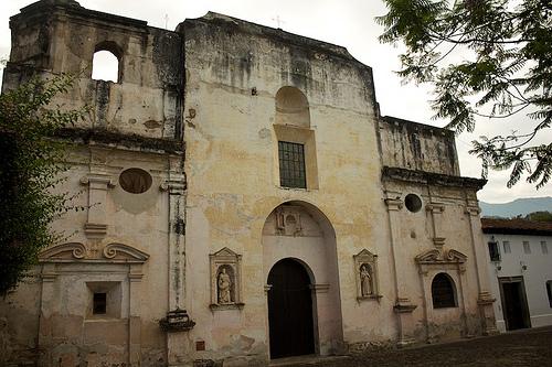 Antigua Churches: Iglesia de Guadalupe