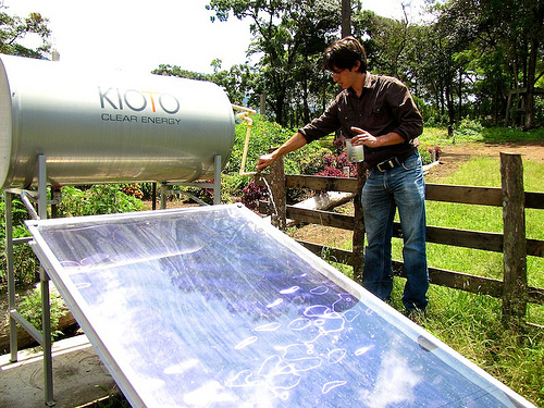 Solar Water Heaters, Clear Energy
