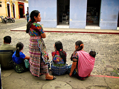 Colorful Guatemalan Women