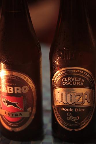 Guatemalan Beers: Cabro and Moza