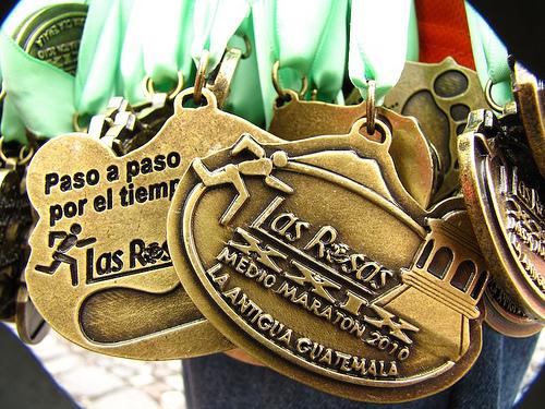 Las Rosas Medio Maratón 2010 Medals