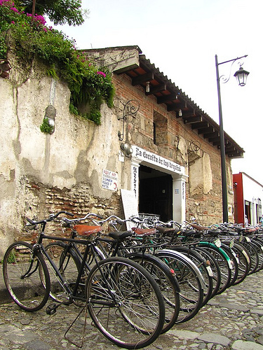 Antigua's Antique Bicycles