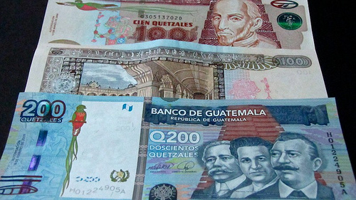 Brand New 200 Quetzals Bill by Rudy Girón